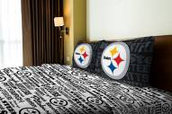 Pittsburgh Steelers Anthem Full Bed Sheets