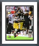 Pittsburgh Steelers Antonio Brown 2014 Action Framed Photo