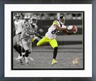Pittsburgh Steelers Antonio Brown 2014 Spotlight Action Framed Photo