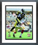 Pittsburgh Steelers Antonio Brown 2015 Action Framed Photo