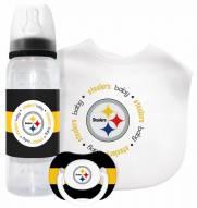 Pittsburgh Steelers Baby Gift Set