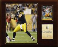 "Pittsburgh Steelers Ben Roethlisberger 12 x 15"" Player Plaque"