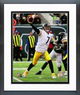 Pittsburgh Steelers Ben Roethlisberger 2014 Action Framed Photo