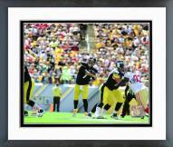 Pittsburgh Steelers Ben Roethlisberger 2015 Action Framed Photo