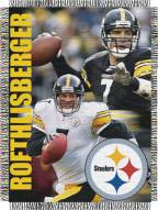 Ben Roethlisberger Pittsburgh Steelers NFL Woven Tapestry Throw