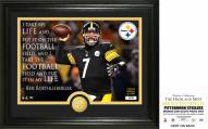 Pittsburgh Steelers Ben Roethlisberger Quote Bronze Coin Photo Mint