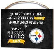 Pittsburgh Steelers Best Things Small Plaque