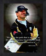 Pittsburgh Steelers Bill Cowher Framed Pro Quote
