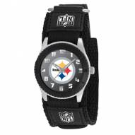 Pittsburgh Steelers Black Rookie Kids Watch
