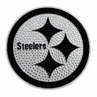 Pittsburgh Steelers Bling Car Emblem