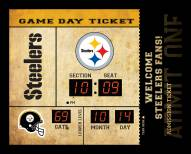 Pittsburgh Steelers Bluetooth Scoreboard Wall Clock