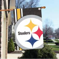 Pittsburgh Steelers Bold Logo Banner