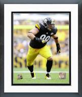 Pittsburgh Steelers Brett Keisel 2014 Action Framed Photo