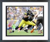 Pittsburgh Steelers Cameron Heyward 2014 Action Framed Photo
