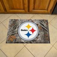 Pittsburgh Steelers Camo Scraper Door Mat