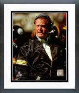 Pittsburgh Steelers Chuck Noll 1986 Action Framed Photo