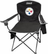 Pittsburgh Steelers Coleman XL Cooler Quad Chair