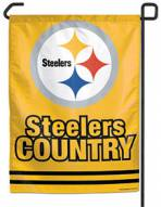 "Pittsburgh Steelers Country 11"" x 15"" Garden Flag"
