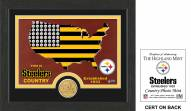 Pittsburgh Steelers Country Bronze Coin Photo Mint