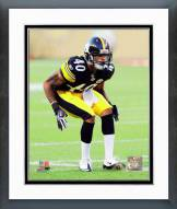Pittsburgh Steelers Curtis Brown 2011 Action Framed Photo