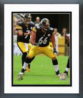 Pittsburgh Steelers David DeCastro 2014 Action Framed Photo