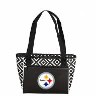 Pittsburgh Steelers Double Diamond Cooler Tote