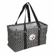 Pittsburgh Steelers Double Diamond Picnic Caddy