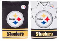 Pittsburgh Steelers Double Sided Jersey Garden Flag