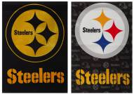 Pittsburgh Steelers Double Sided Glitter Flag