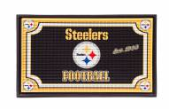 Pittsburgh Steelers Embossed Door Mat