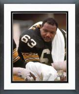 Pittsburgh Steelers Ernie Holmes Framed Photo