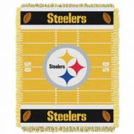 Pittsburgh Steelers Field Baby Blanket