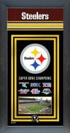 Pittsburgh Steelers Framed Championship Print