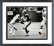 "Pittsburgh Steelers Franco Harris ""The Immaculate Reception"" 1972 Action Framed Photo"