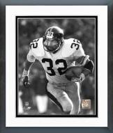 Pittsburgh Steelers Franco Harris Rushing With Ball Framed Photo