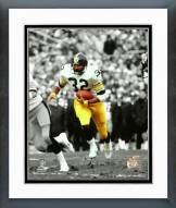 Pittsburgh Steelers Franco Harris Spotlight Action Framed Photo