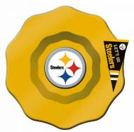 Pittsburgh Steelers Glass Dip Bowl with Charm