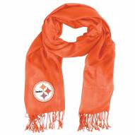 Pittsburgh Steelers Gold Pashi Fan Scarf