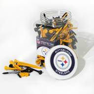 Pittsburgh Steelers 175 Golf Tee Jar