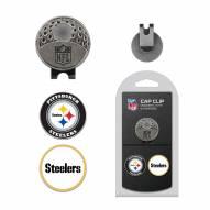 Pittsburgh Steelers Hat Clip & Marker Set