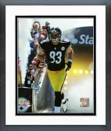 Pittsburgh Steelers Heath Miller 2015 Action Framed Photo