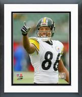 Pittsburgh Steelers Hines Ward 2004 Action Framed Photo