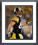 Pittsburgh Steelers Hines Ward 2008 Action Framed Photo