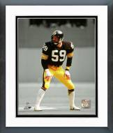 Pittsburgh Steelers Jack Ham Spotlight Action Framed Photo