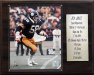 "Pittsburgh Steelers Jack Lambert 12"" x 15"" Career Stat Plaque"