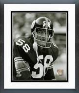 Pittsburgh Steelers Jack Lambert 1974 Action Framed Photo
