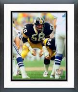 Pittsburgh Steelers Jack Lambert Defensive Stance Framed Photo