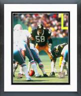 Pittsburgh Steelers Jack Lambert Framed Photo