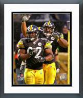 Pittsburgh Steelers James Harrison & LaMarr Woodley 2008 Action Framed Photo