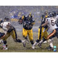 "Pittsburgh Steelers Jerome Bettis Rushing in Snow Signed 16"" x 20"" Photo"